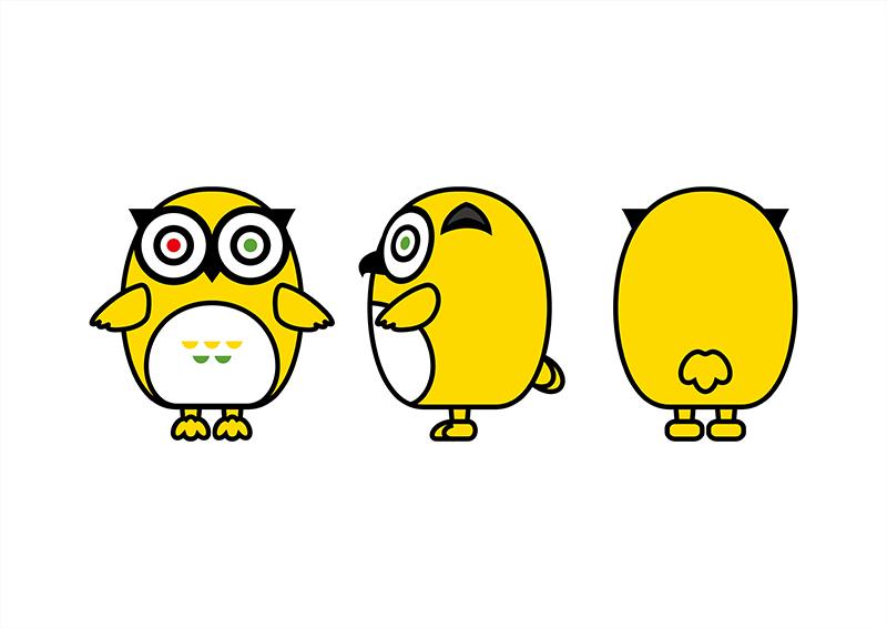 猫途鹰吉祥物 di.cdr